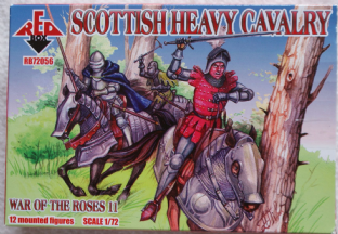 Red Box 1/72 RB72056 Scottish Heavy Cavalry (War of the Roses)
